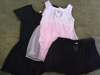 girl dance clothes size M 7/8 in good condition