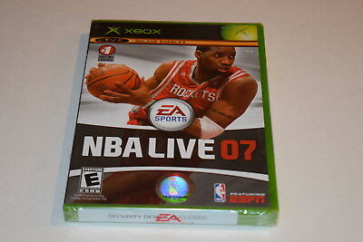 NBA Live 07 Microsoft Xbox Video Game New Sealed