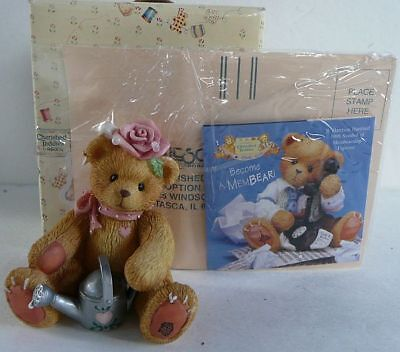 New Cherished Teddies Everything Coming Up Roses Priscilla Hillman 202886 1996