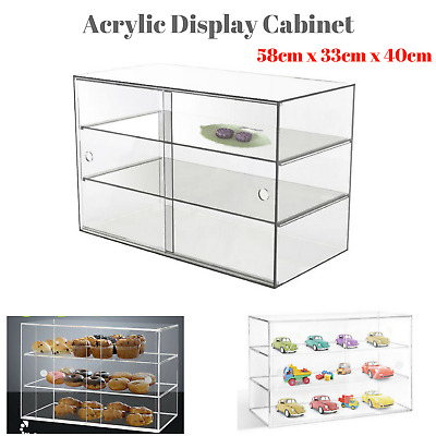 Cake Display Cabinet Large Acrylic Cookies Muffin Pastries Showcase Collection