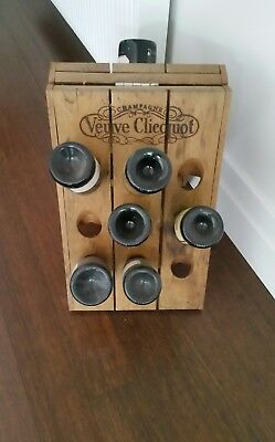 Wine rack timber