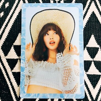 [TWICE MiNa] Photocard Official New Summer Nights A Version Preorder 미나