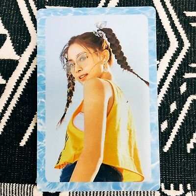[TWICE Tzuyu] Photocard Official New Summer Nights A Version Preorder 쯔위
