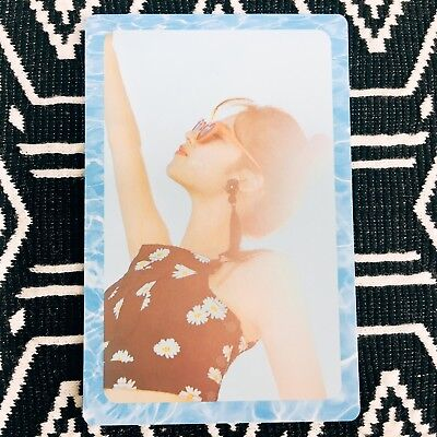 [TWICE SaNa] Photocard Official New Summer Nights A Version Preorder 사나