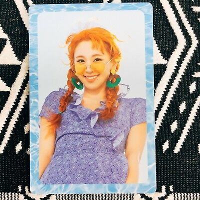 [TWICE ChaeYoung] Photocard Official New Summer Nights A Version Preorder 채영