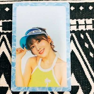 [TWICE MoMo] Photocard Official New Summer Nights A Version Preorder 모모