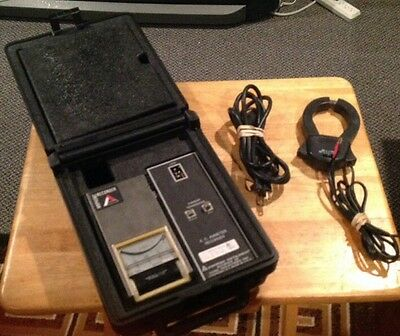 Amprobe AA81 Current Recorder / Ammeter w A70FL Transducer, Tested! LAA81.
