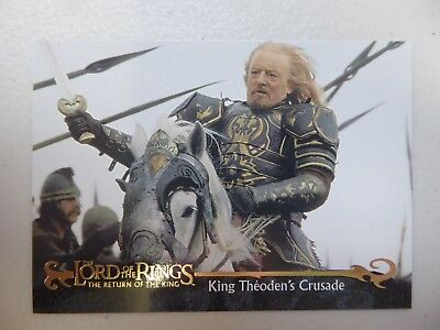 TOPPS Card : LOTR The Return Of The King  #54 KING THEODEN'S CRUSADE