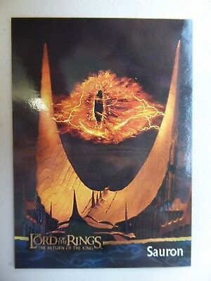 TOPPS Card : LOTR The Return Of The King  #18 SAURON