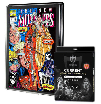 1 Max Pro UV Current/Modern Comic Book Showcases Wall Mountable Display Frame