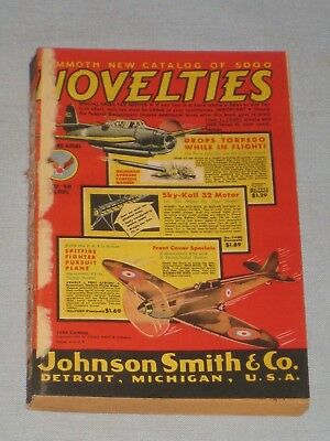 1944 Johnson Smith Co. Mammoth Catalog Of 5000 Novelties