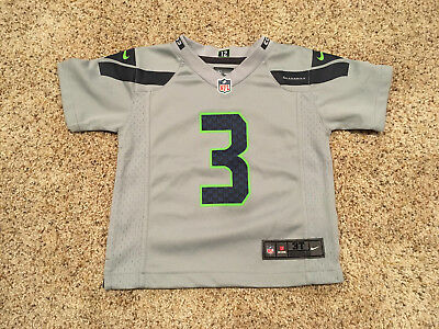 Cheap RUSSELL WILSON # 3 Seattle Seahawks Nike On Field Jersey Size KIDS  free shipping