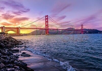 Digital Image Picture JPEG Desktop Wallpaper Golden Gate Bridge California USA