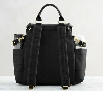 Skip Hop Chelsea Downtown Chic Diaper Backpack Black NEW SALE!