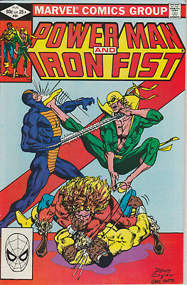 Power Man and Iron Fist #84 (Aug 1982, Marvel) 4th Sabretooth Lot of five comics