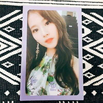 [TWICE SANA] Photocard Official New Summer Nights 2nd Special Album Photo 사나