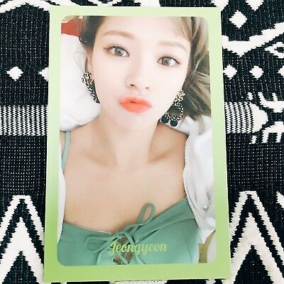 [TWICE JEONGYEON] Photocard Official New Summer Nights 2nd Special Album 정연