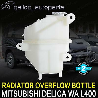 Radiator Overflow Bottle For Mitsubishi Delica Wa L400 Expansion Tank 1994-2002
