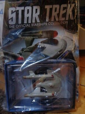 STAR TREK Eaglemoss Starships 44 Starfleet United Earth INTREPID Neu OVP