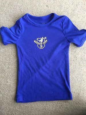 Ski Thermal Kids Top Shirt Size 4