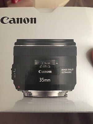 Canon EF 35mm f/2 IS USM Lens. Excellent Condition