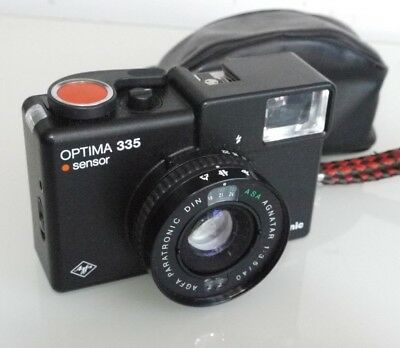 Agfa Optima 335 Sensor 35Mm Camera
