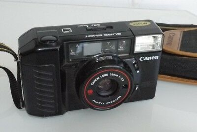Canon Sure Shot 35Mm Camera