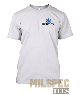 SIA LICENCED CLOSE PROTECTION OFFICER Wicking Polo Shirt Heavyweight