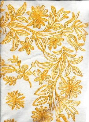 Antique Ottoman Embroidered Tablecloth