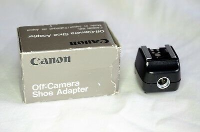 Canon Off Camera Shoe Adapter