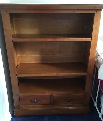 Antique French Cherrywood Bookcase