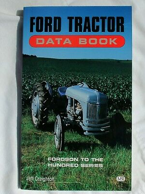 FORD Tractor Data Book 0-7603-0240-5 Fordson to 100 Series 9N 2N 8N NAA NEW BOOK
