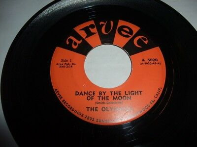 OLYMPICS: Dance By The Light Of The Moon (US-Arvee 1960, very rare!!)