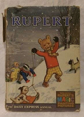 Rupert The Bear Annual Daily Express 1967 Price Unclipped