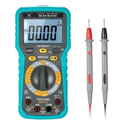Multi-functional Digital Multimeter DMM LCD with Backlight 6000 Counts A1F2