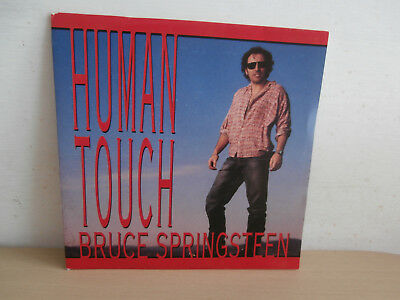 7 inch Vinyl         BRUCE SPRINGSTEEN                     ***HUMAN TOUCH***