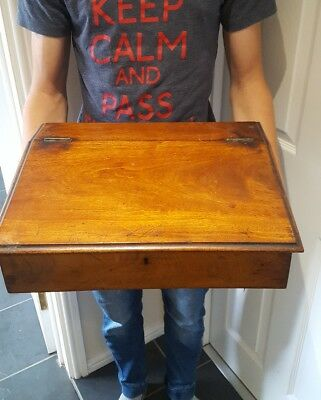 Antique large wooden box