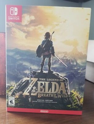 The Legend of Zelda Breath of the Wild SPECIAL EDITION for Nintendo Switch