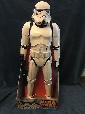 STAR WARS JAKKS PACIFIC MASSIVE BIG-FIGS STORMTROOPER MOVIE-VERSION 31inch 79cm
