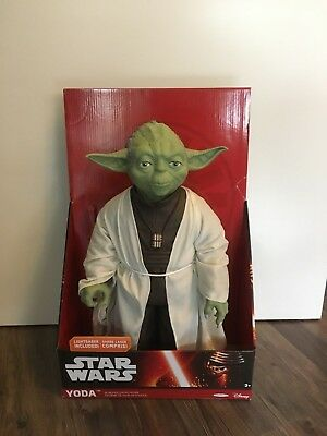 STAR WARS JAKKS PACIFIC MASSIVE BIG-FIGS YODA 18inch 31inch scale