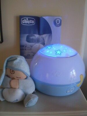 Chicco Goodnight Stars Projector Night Light with Music (Blue) GREAT CONDITION!!