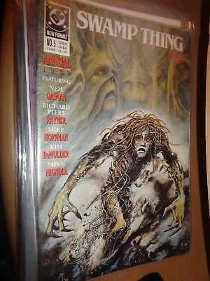 Swamp Thing Annual 5 1989
