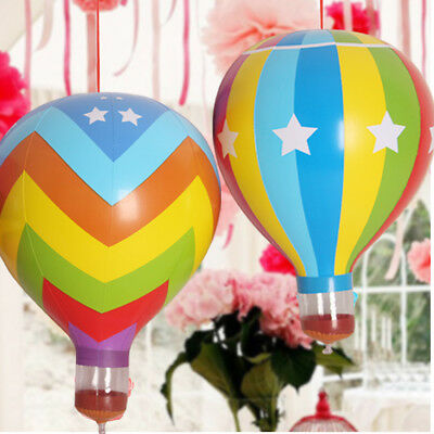 Suspended Inflatable Hot Air Balloon Blow Up Toy Party Game Props Home Decor