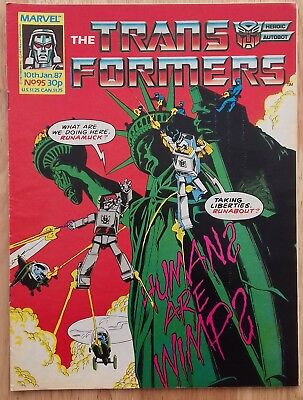 UK Transformers Comic Issue 95