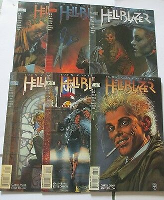 Hellblazer : Rake at gate of hell story arc garth Ennis , Dillon Rare Vertigo