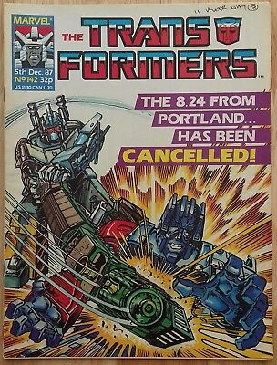 UK Transformers Comic Issue 142