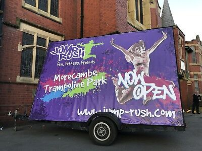 14ft x 8ft Advertising Trailer / Mobile Billboard