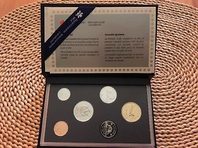 1992 CANADIAN ROYAL MINT - Specimen Set - MÜNZSATZ -