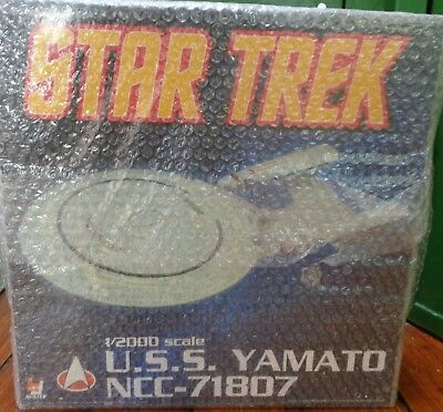 AOSHIMA  U.S.S.YAMATO NCC-71807 1/2000 ULTRA RARE Limited 300 STAR TREK New