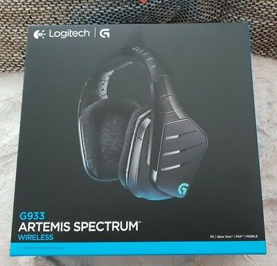 Logitech G933 Artemis Spectrum Kabelloses Gaming Headset für PC Xbox One, PS4 03